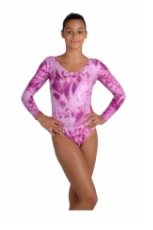 Body Gym-Dress, langer Arm Glanzlycra